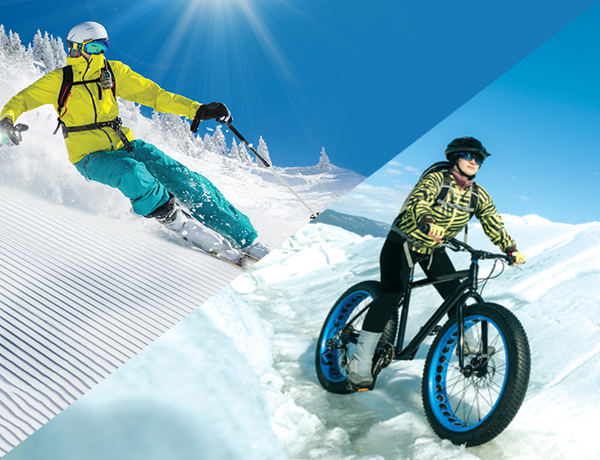 Fat bike & skialp rental