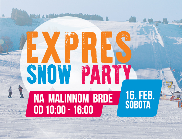 15.2. Expres snow party